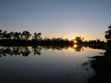 Cullyamurra Waterhole Sunrise