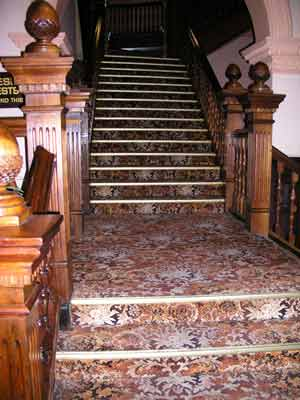 The Staircase at Empire Hotel