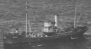 HMAS Goolgwai late in WWII