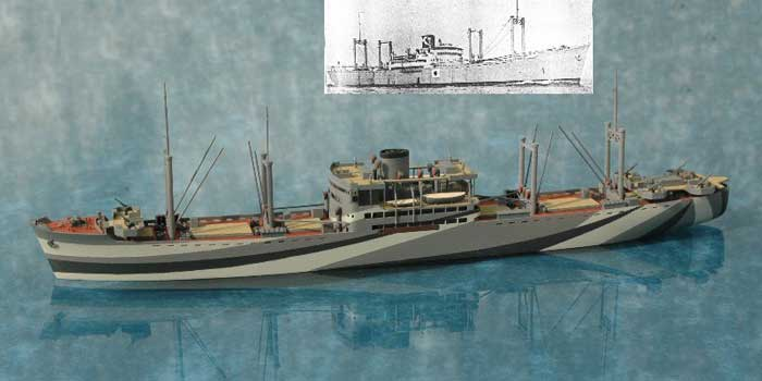The Hirokawa Maru is shown in this photo