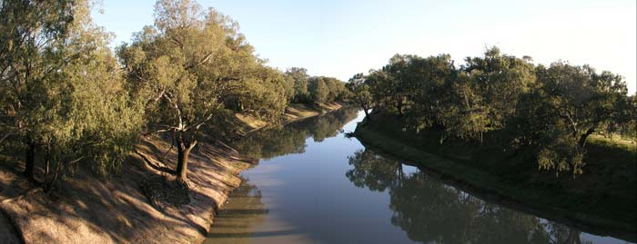 Darling River at Louth