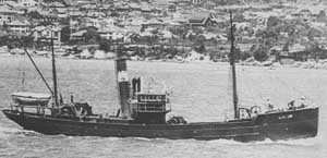 SS Olive Cam as a trawler