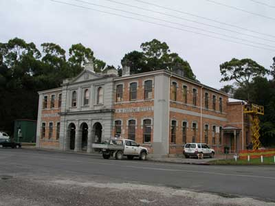 The Old Strahan Customs Building