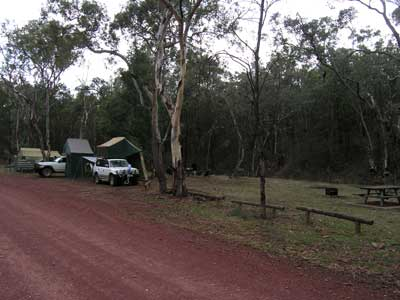 Wallaby Camping Area