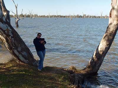 Kelly at Lake Mulwala